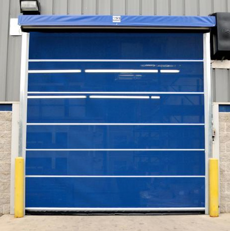 Motorized Mesh Overhead Roll Up Doors Industrial Doors