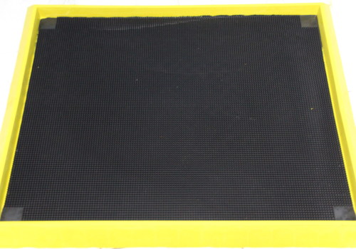 Disinfectant Boot Bath Rubber Floor Mat