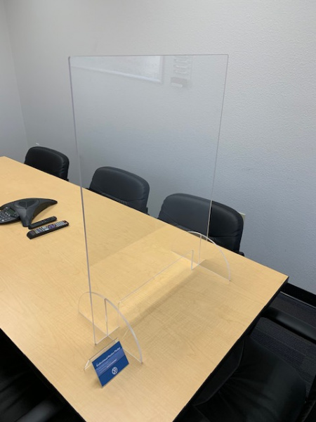 Plexiglass Desk Shield
