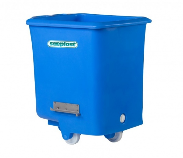D300 - Insulated Dump Tub Bulk Containers - with Dump Brackets
