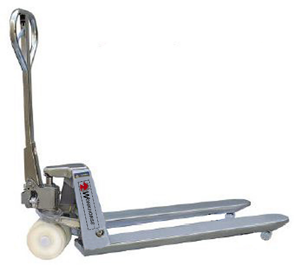 WH Stainless Steel Manual Pallet Jack