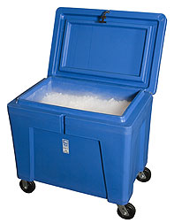 Insulated Dry Ice Container