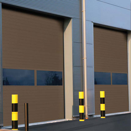 TC200 - TriCore™ Sectional Commercial Overhead Roll Up Doors