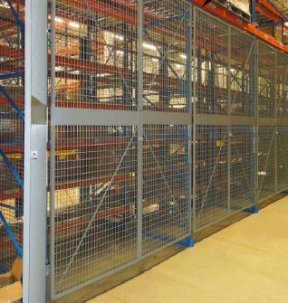 Pallet Rack Safety Enclosures