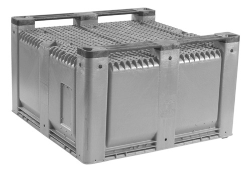 MACX48 solid bulk container bottom view