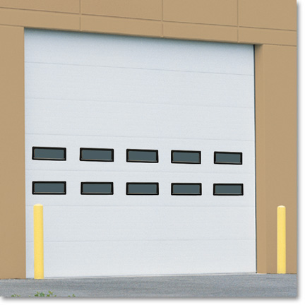 TM220 - ThermaSeal™ Sectional Overhead Roll Up Doors