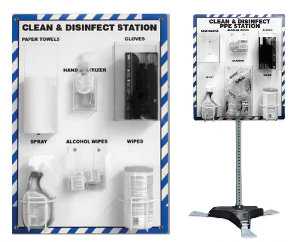 PPE Clean & Disinfect Stations