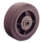 XS052 X-tra Soft Rubber (Flat) (XS) Industrial Caster Wheels