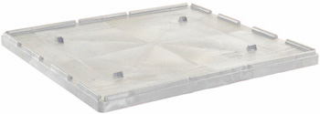 White Lid for BF4844 Reusable Bulk Containers