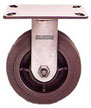 16XS052-R - Series 16 X-tra Soft Rubber (Flat) (XS) Industrial Casters