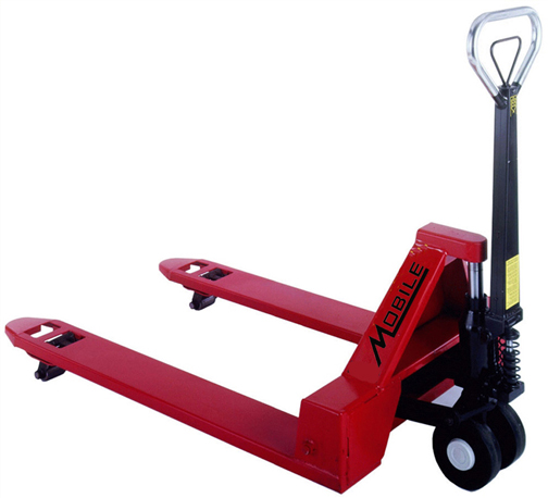 """MINEY"" Low Profile Manual Pallet Jack"