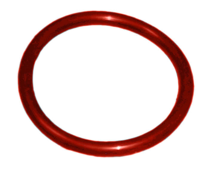 Red Rubber O-Ring for Drain Plug for PB Series