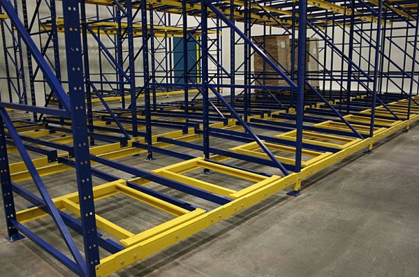 Push Back Pallet Racking Systems