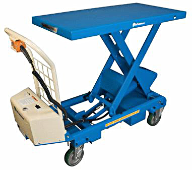BX-50B - Mobile Electric Battery Scissor Lift Tables