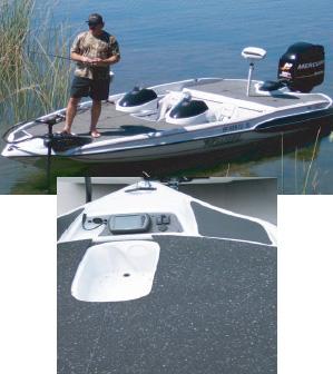 Marine Boat Deck Tuff Skin Rubber Matting