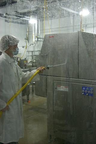 Food Processing Industrial Curtain Walls Commercial