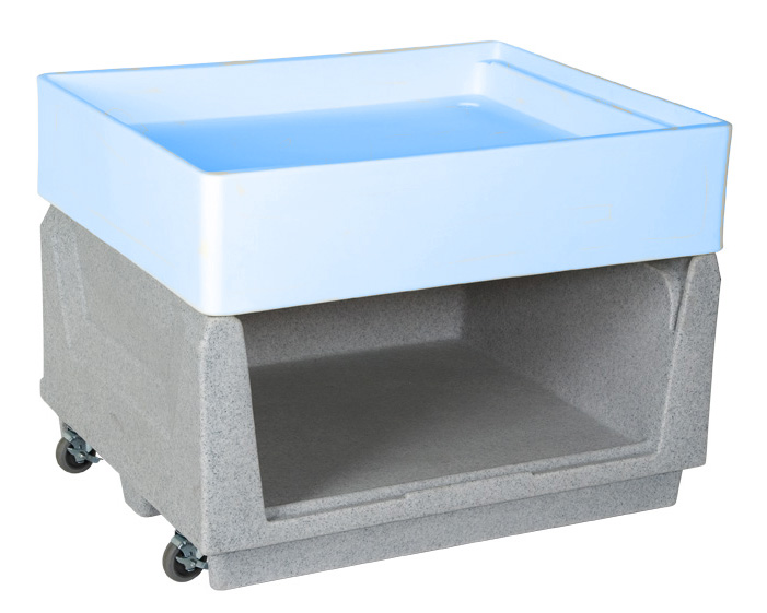 Container Base for Polar Merchandiser Insulated Container