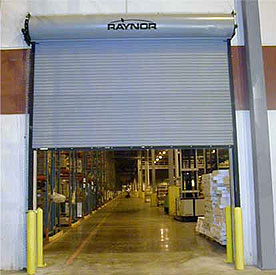 FireCoil™  Fire UL Rated Coiling Commercial Overhead Roll Up Doors