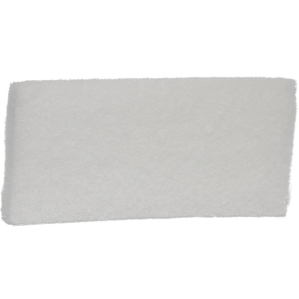 5525 - Soft Duty Scrub Pad - White