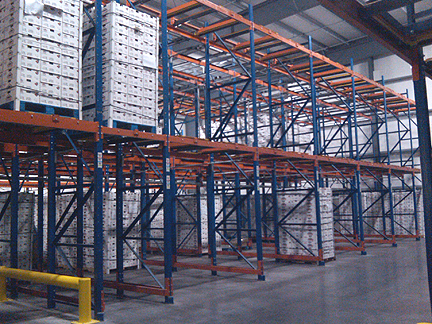 Cold Storage Drive In Pallet Racking