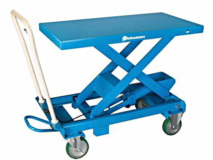 BX-50 - BX Mobile Hydralic Scissor Lift Tables