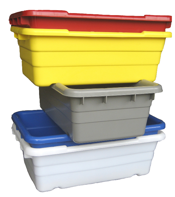 Jumbo Lug Cross Stack & Nest Containers
