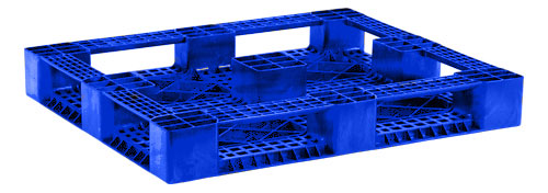 RACX Blue FDA Rackable Plastic Pallets | Plastic Skids | - DACO