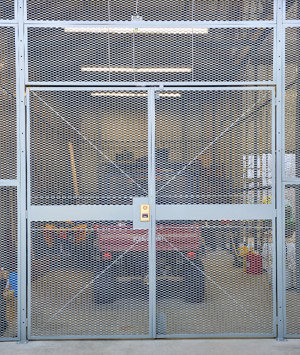 SG2000 Welded Wire Partitions / Wire Security Cages