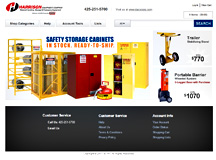Harrison Product Catalog Website