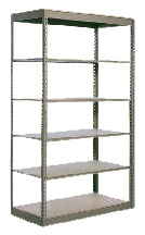 Q7M3612-4 Medium Duty Industrial Boltless Metal Shelving Unit