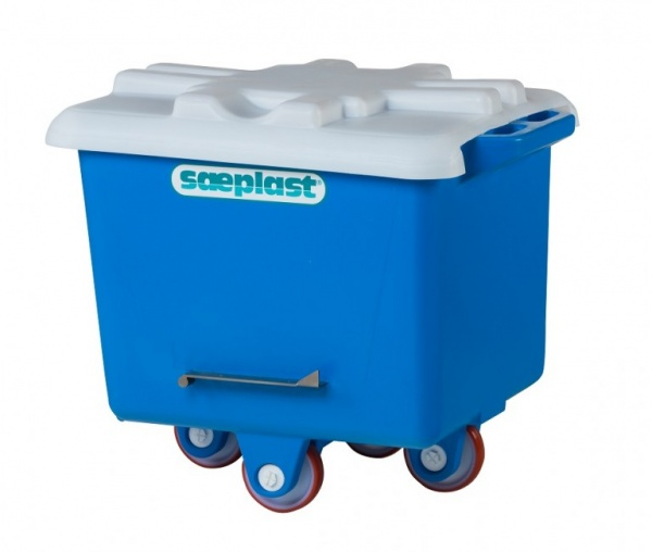 200PE Dump Tub Buggy with Lid