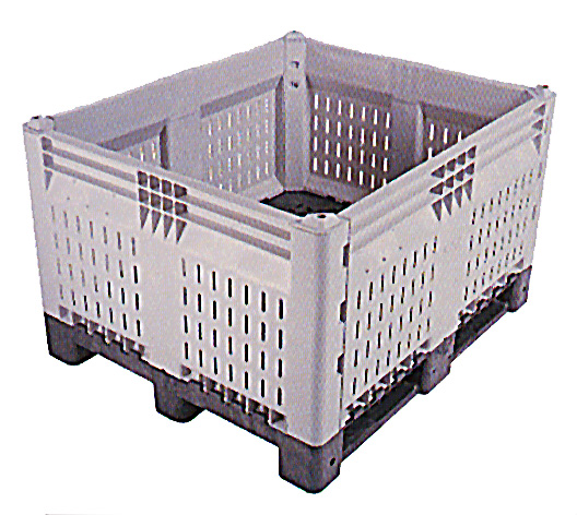Vented Kitbin Collapsible Bulk Containers Plastic Totes