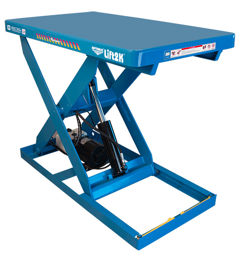 Optumus Scissor Lift Tables