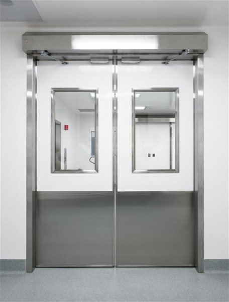 LXP 130 - Paired Swinging - Manual, Fiberglass Commercial Doors