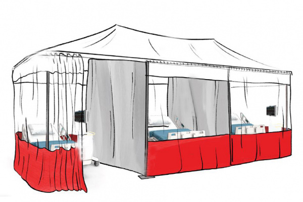 Patient Care Tents / Employee Separation