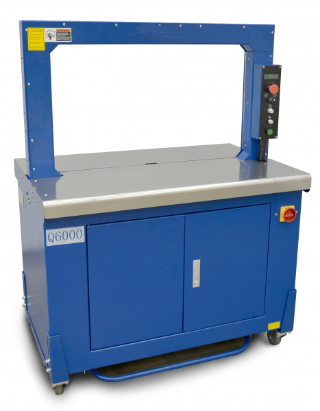 Q-6000 - Automatic Arch Strapping Machine