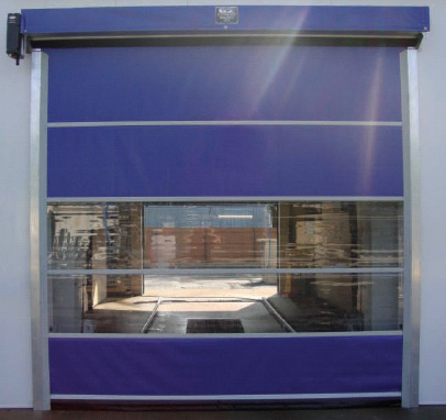 G2 HarshGuard   Vinyl Commercial Overhead Roll Up Doors