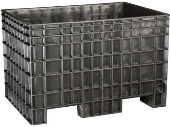 Black BF422928 Reusable Bulk Containers