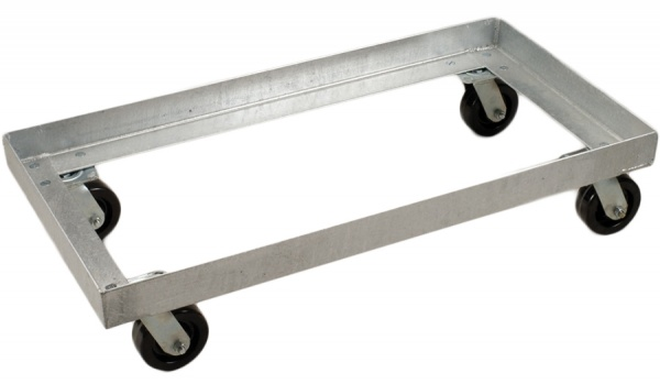 6913 - Galvanized Steel Undercarriage for 6911 Dump Tub Bulk Containers